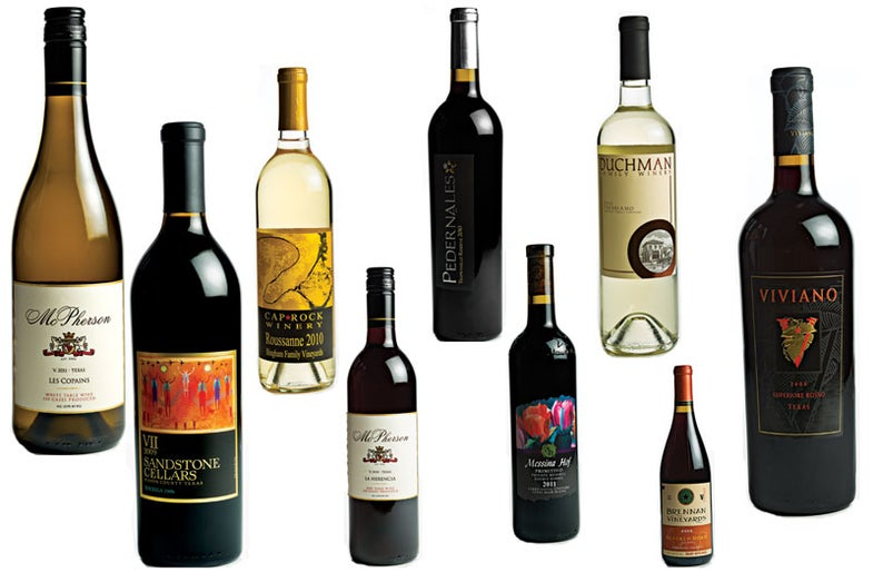 9 Great Texas Hills and Plains Wines