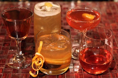 Holiday Bourbon Cocktails