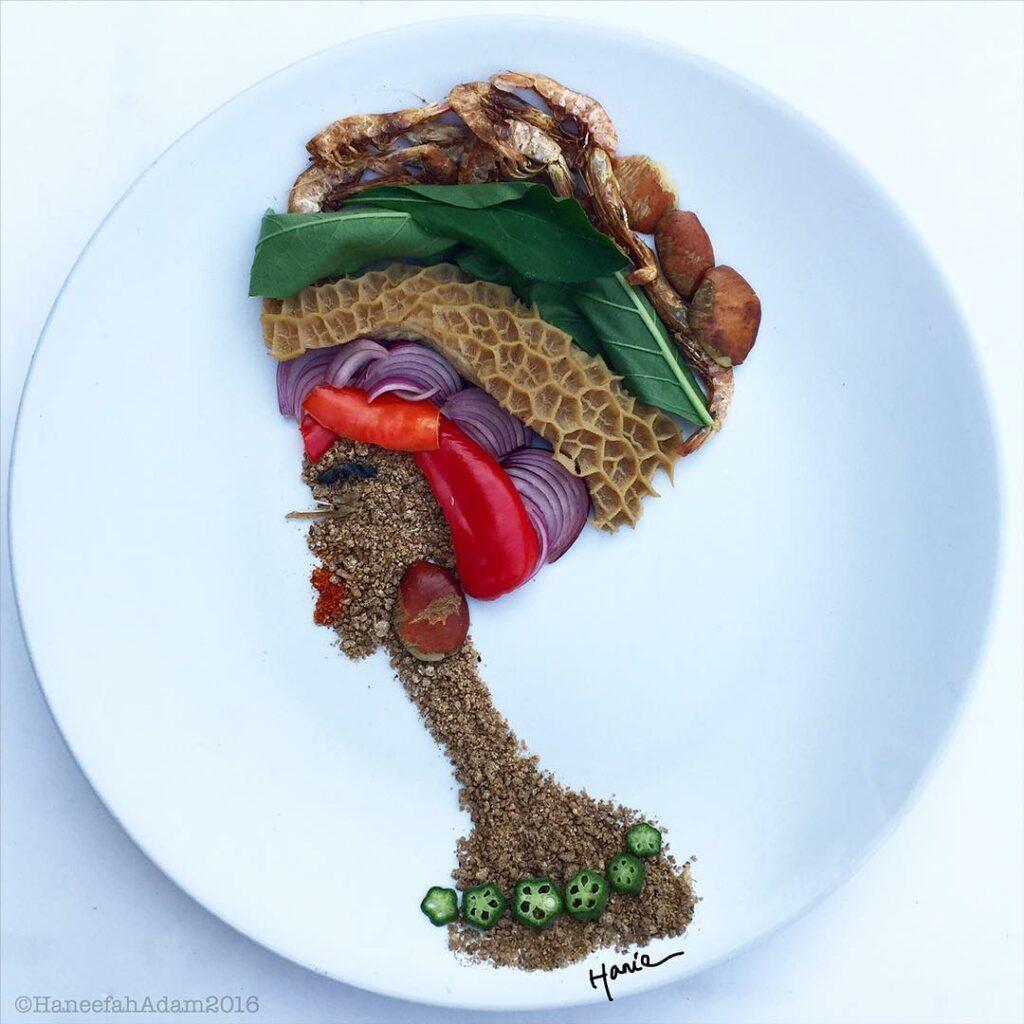nigerian food art