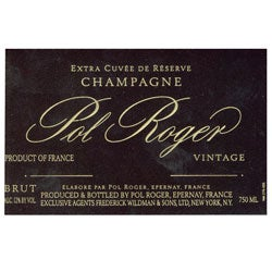 Pol Roger, Champagne (France) Brut 1998