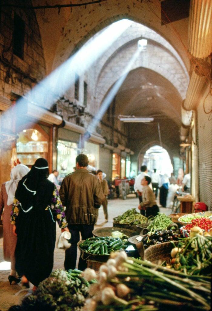 Souk Al Madina in Aleppo, Syria