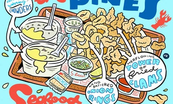 Does This Landlocked Seafood Shack Serve New England's Best Clam Chowder?