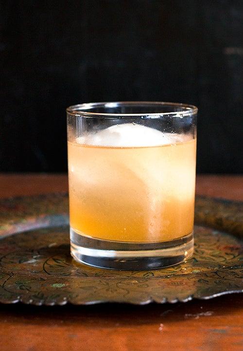 Rye-Spiked Cinnamon Tea (Su Jung Kwa)