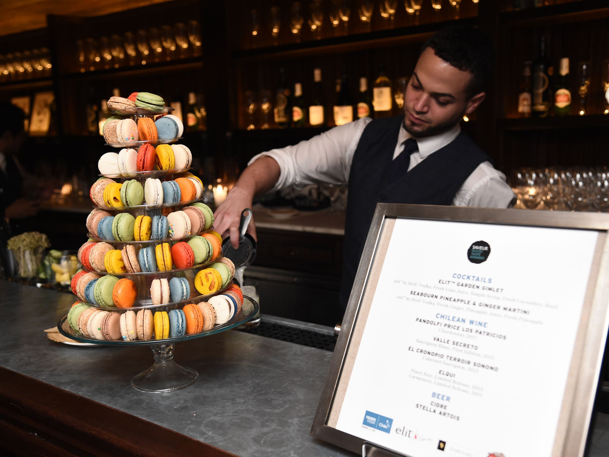 Caviar and a Macaron Tower: Scenes from Our Good Taste Awards Party