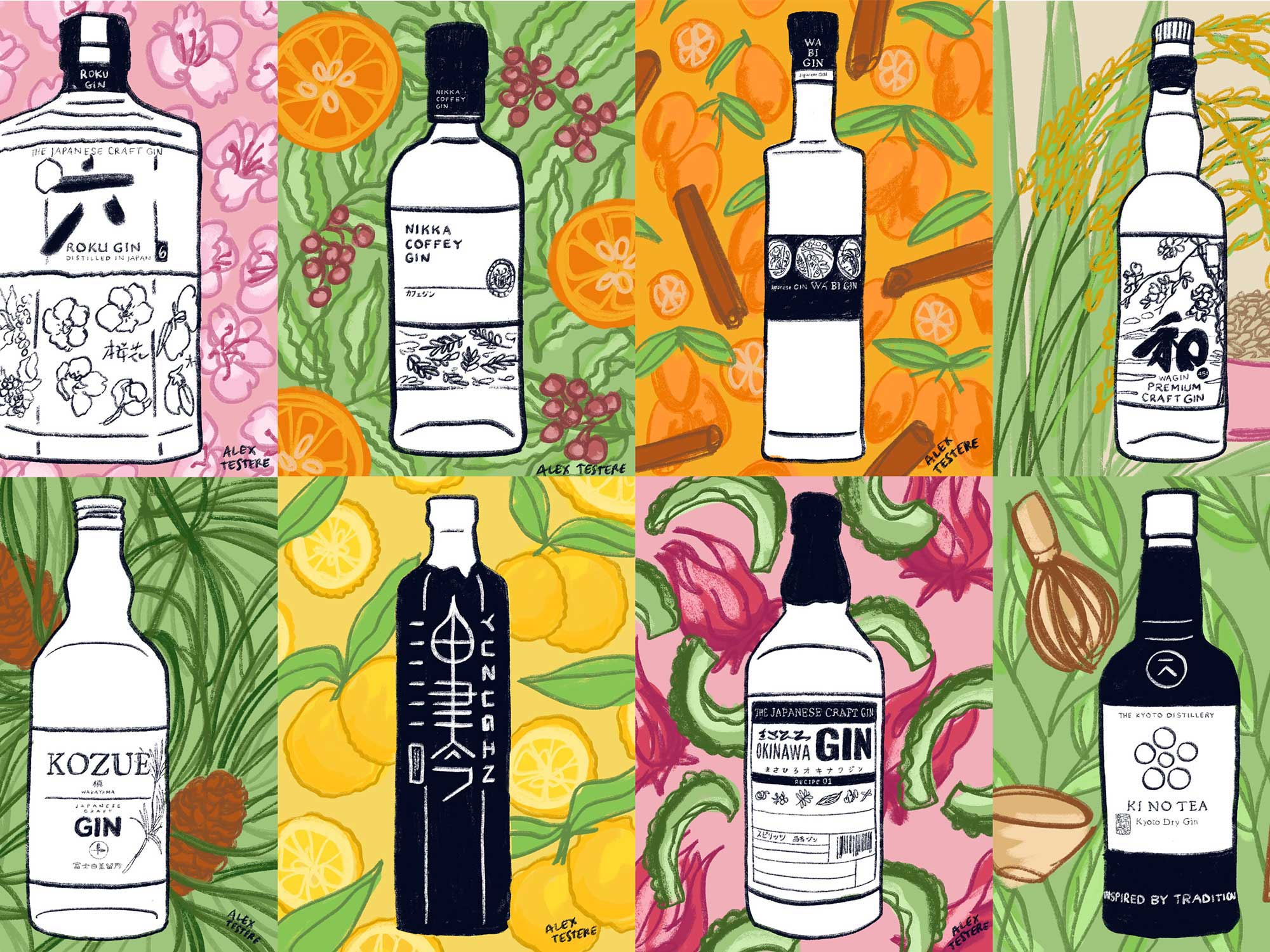 Japanese Artisanal Gin Is The Ultimate Distillation of the Country's Local Produce