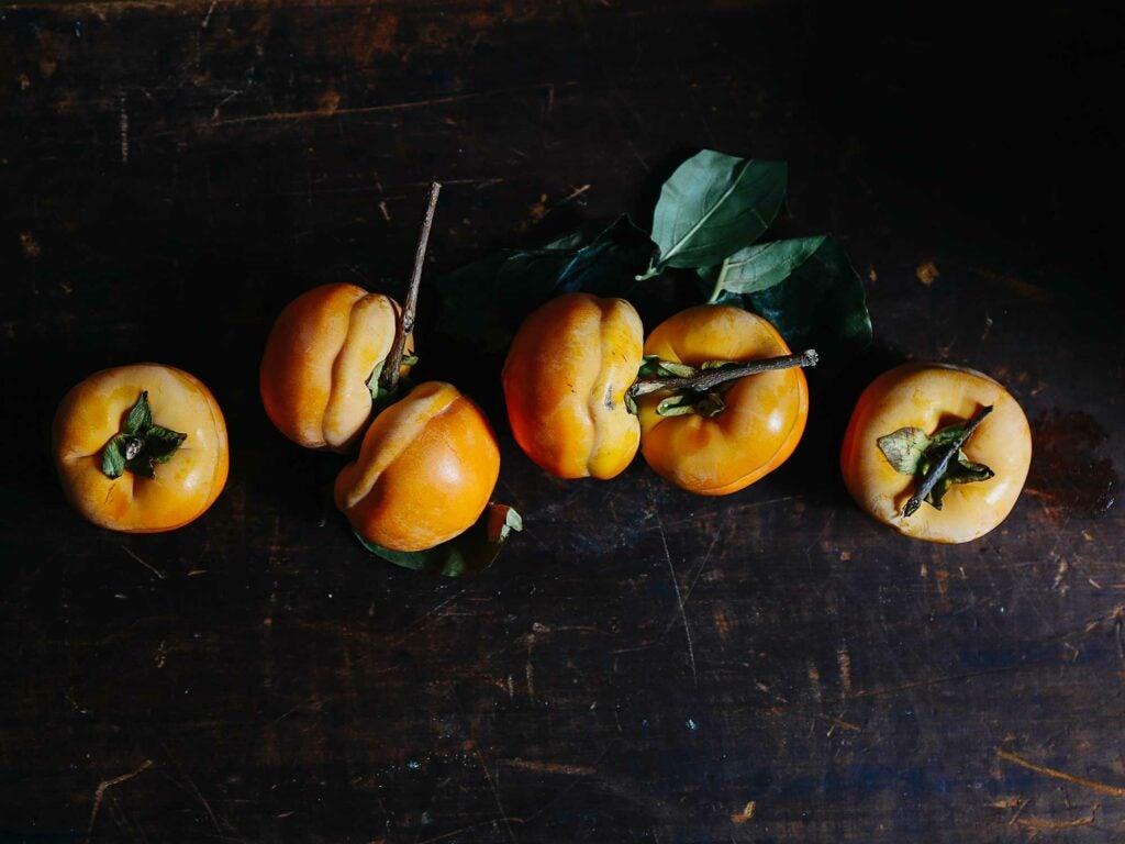 Tamopan persimmons
