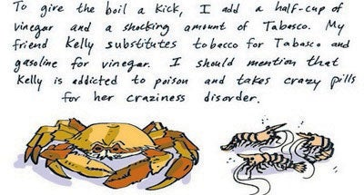 Recipe Comix: Farley's Summer Seafood Boil