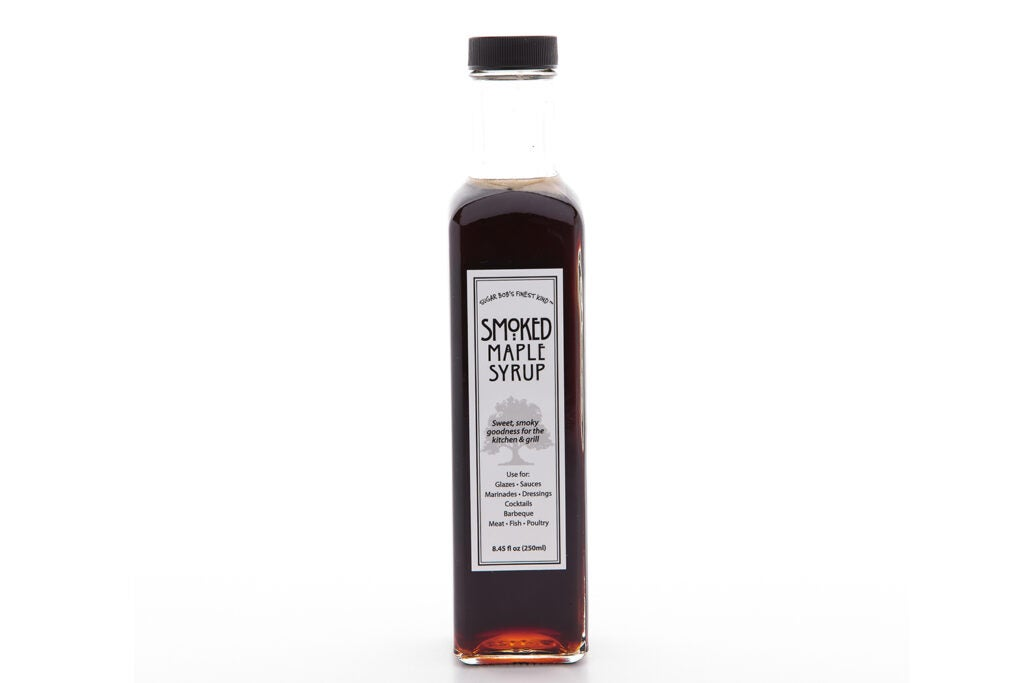 Sugar Bob's Smoked maple syrup