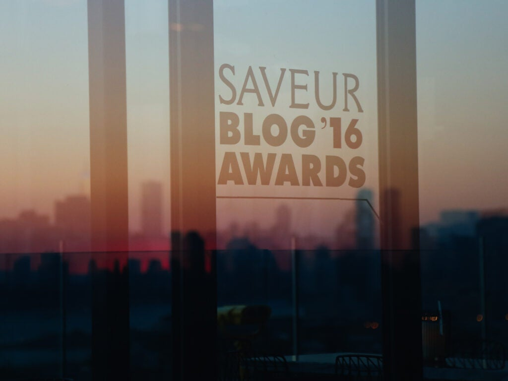 The sun sets on a spectacular evening at the 2016 Blog Awards