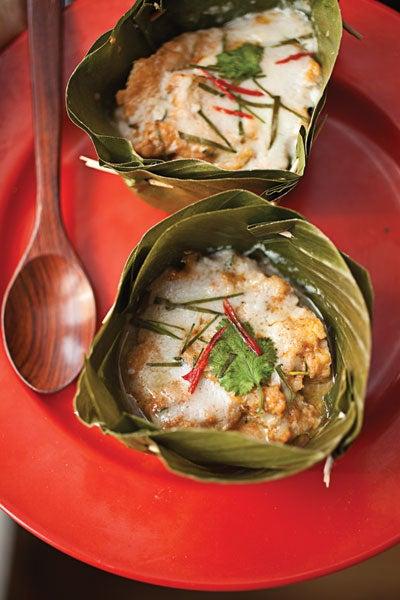 Steamed Thai Fish Custard
