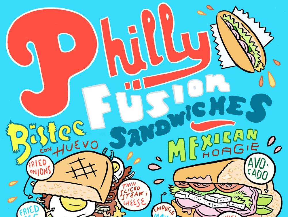 The Hunt for Philadelphia's Strangest, Most Delicious Mashup Sandwiches