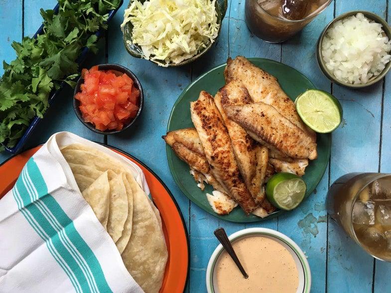 Beer-Battered Fish Tacos Recipe