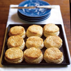 Hot Crusty Buttermilk Biscuits