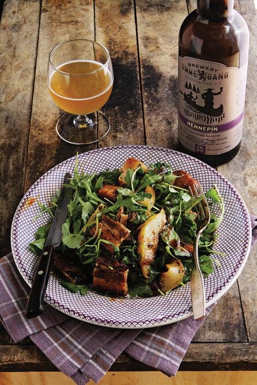 Beer-Braised Pork Belly