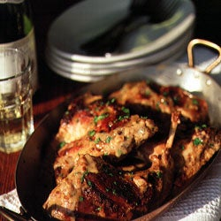 Rabbit Cooked with Dijon Mustard (Lapin à la Moutarde)