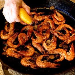Shrimp on the Griddle