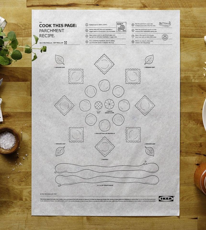 IKEA recipe