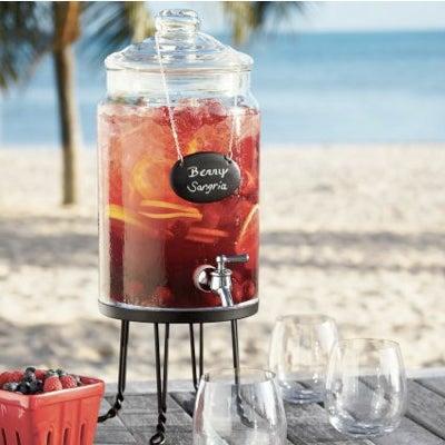 Apothecary Beverage Jar