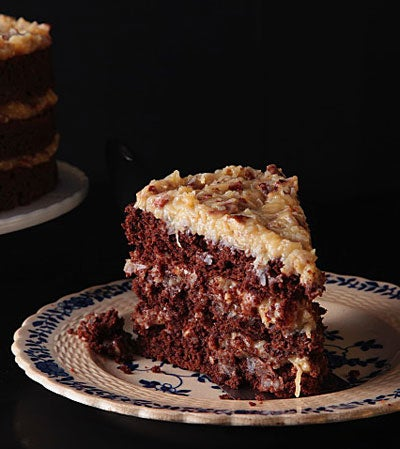 12 Days of Holiday Sweets: German Chocolate Cake