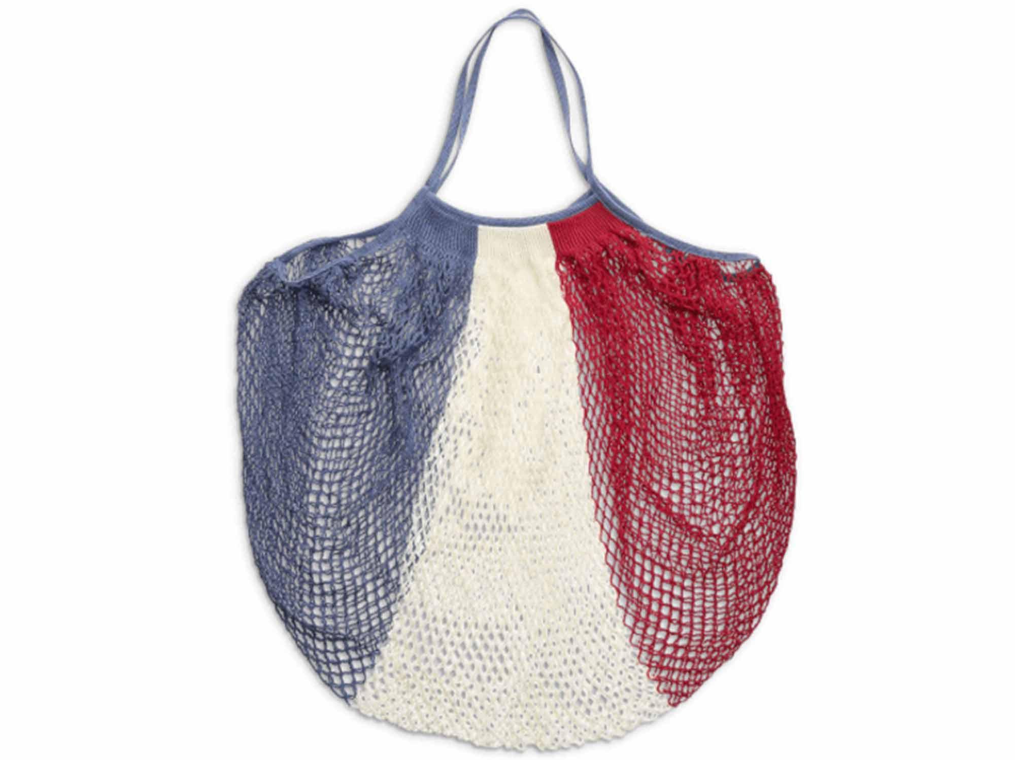 Paris mesh shopping bag