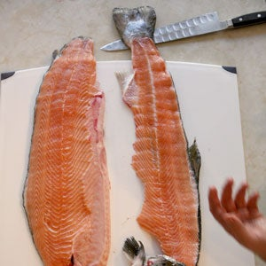 How to Filet a Salmon