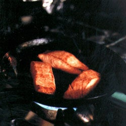 Smoking Salmon in a Wok