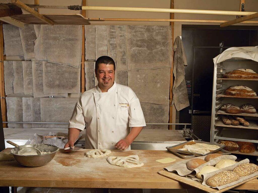 Lionel Vatinet at La Farm Bakery
