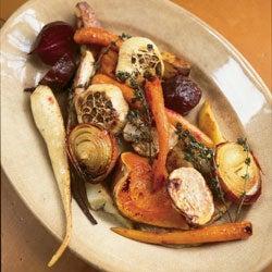 Roasted Autumn Vegetables
