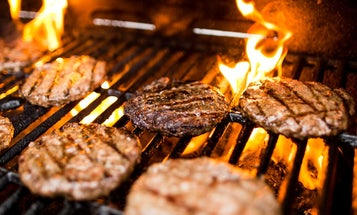 Grilling Burgers in the Block Party Capital of America