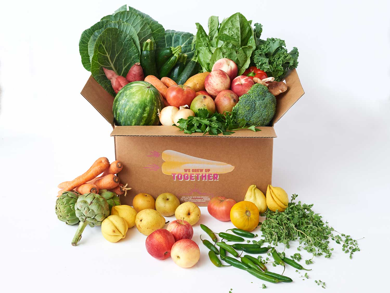 "This Produce Delivery Service Wants You to Start Eating the ""Ugly"" Vegetables Too"