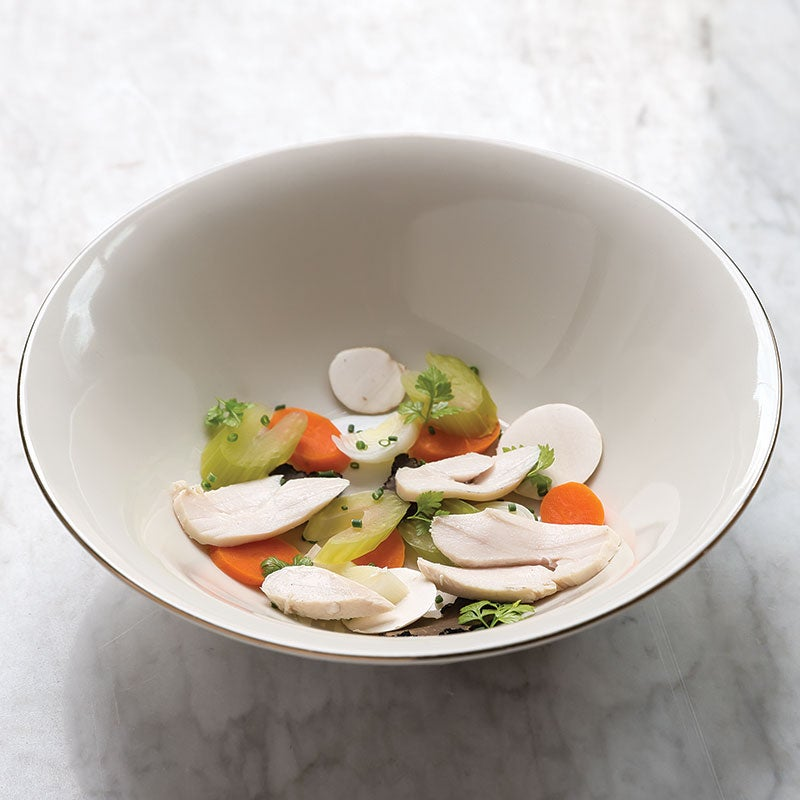 Daniel Boulud Chicken Consomme