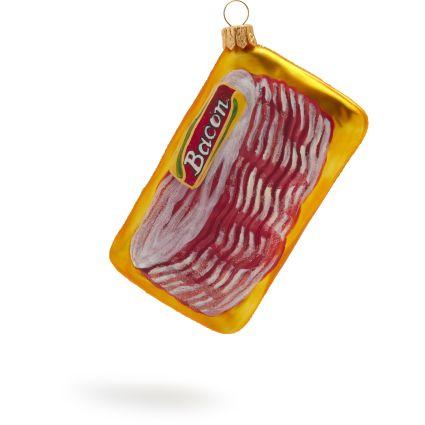 A porky ornament