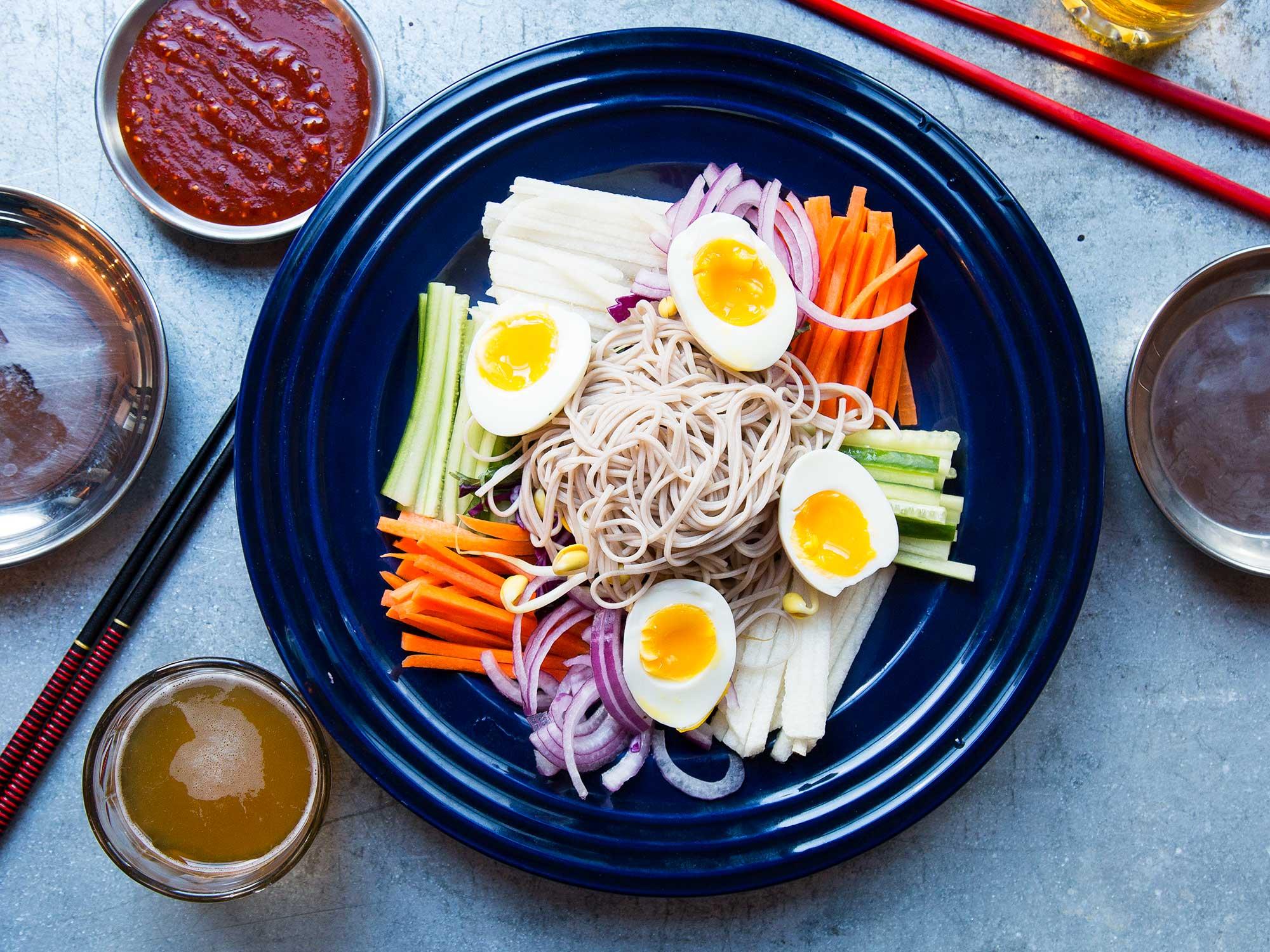 Korean Soba Salad