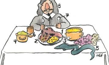 What the English Really Ate on the First Thanksgiving