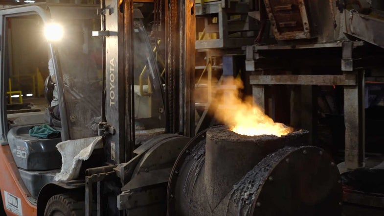This is How Your Pretty French Cast Iron Cookware is Forged in the Flesh-Searing Fires of Mordor