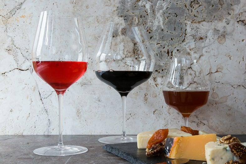 Mark Thomas Wine Glasses