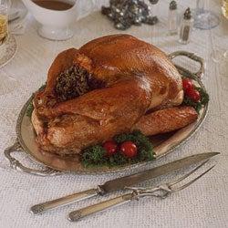 Roast Turkey With Wild Rice Stuffing