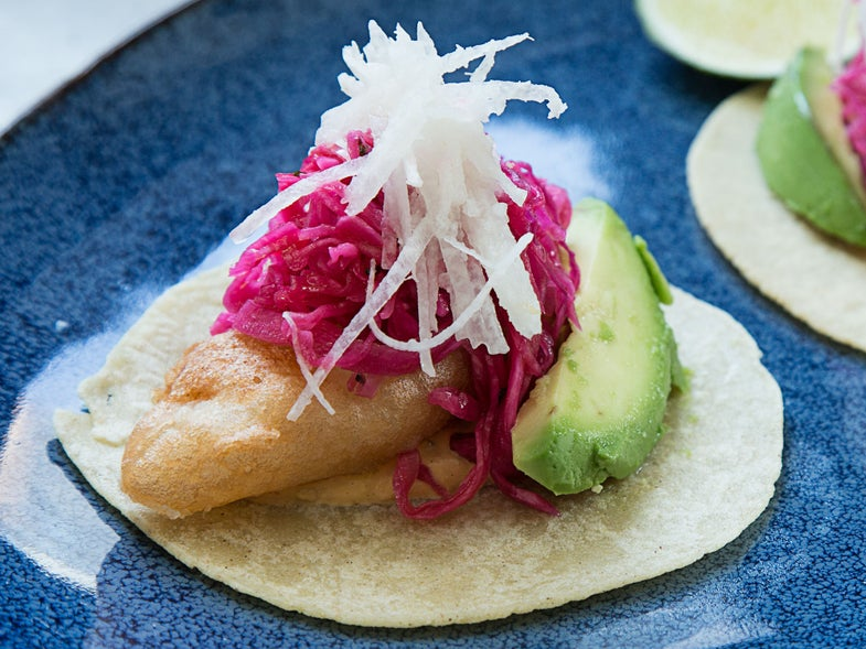 Jose Garces' Fish Tacos