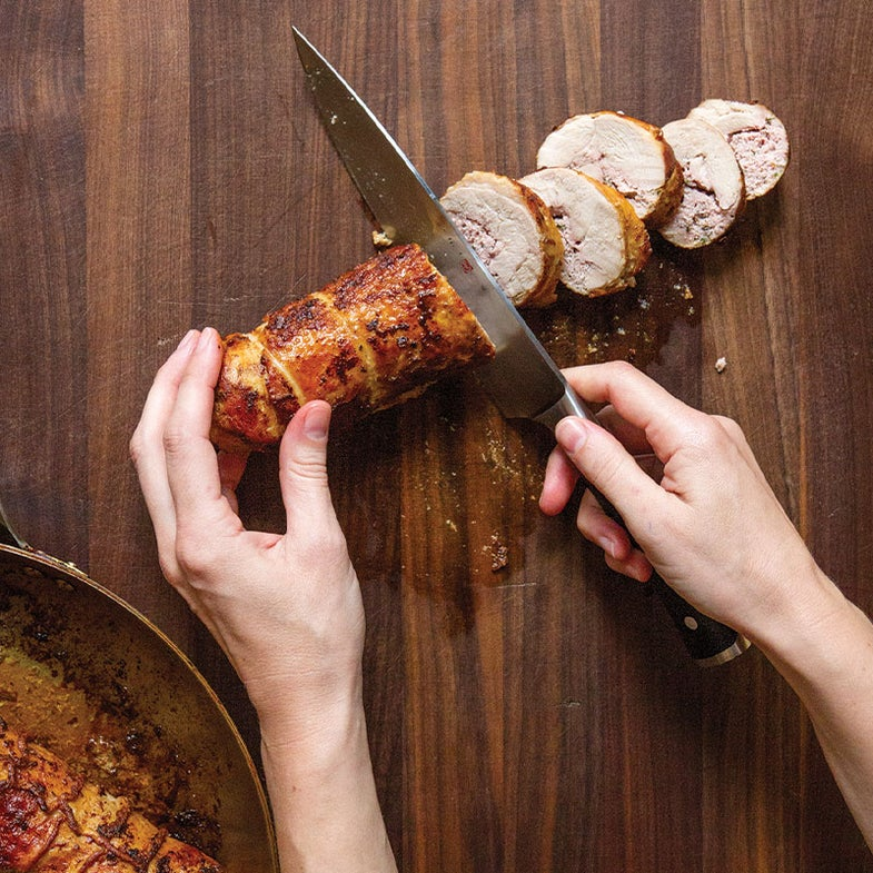 how to make turkey roulade step 7