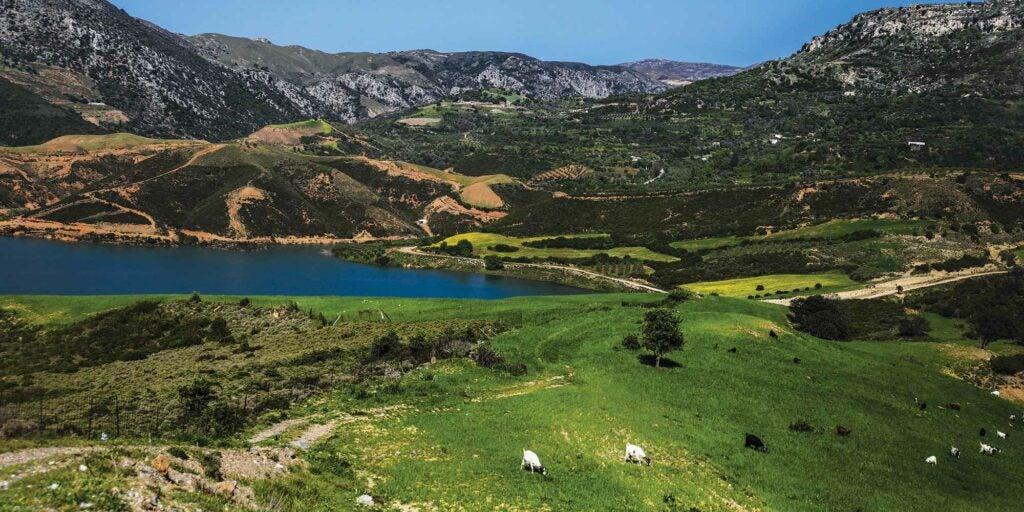 Crete mountain