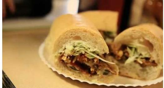 Domilise's Oyster Po' Boy Sandwich
