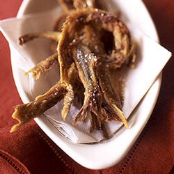 Deep-Fried Anchovy Spines