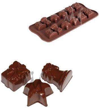 Silicone Chocolate Christmas Molds