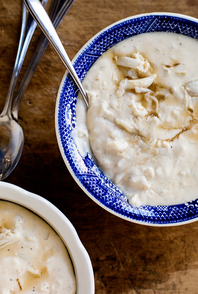 A Crab Feast for Winter: Cream of Crab Soup