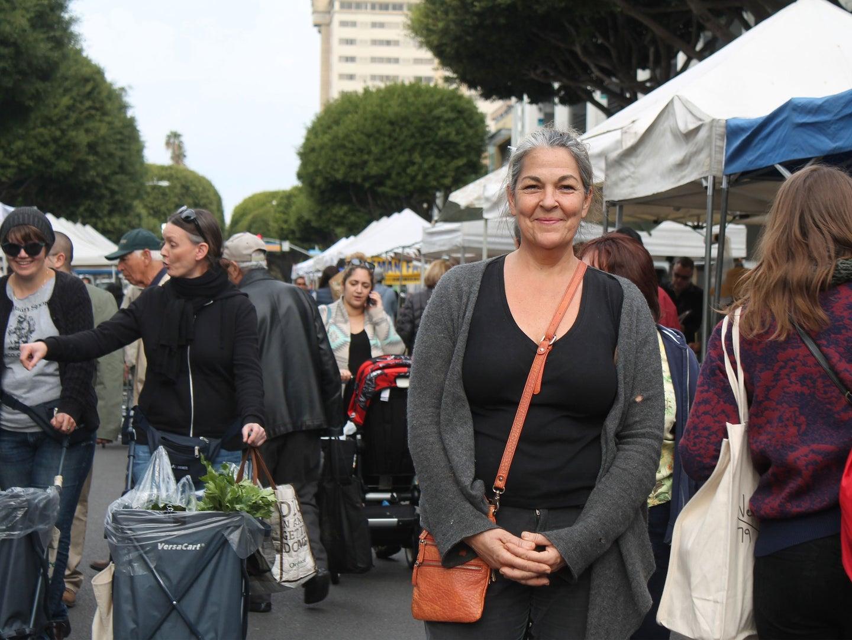 Shopping the Santa Monica Farmers Market with Corina Weibel