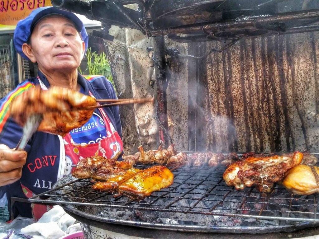 Hawker Grilled Chicken