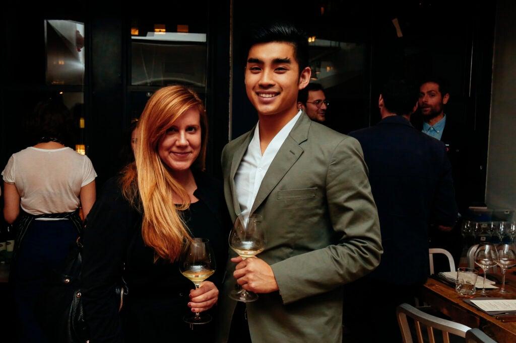 Liquor.com's Nadia Croes and Saveur Deputy Digital Editor Dan Q. Dao.