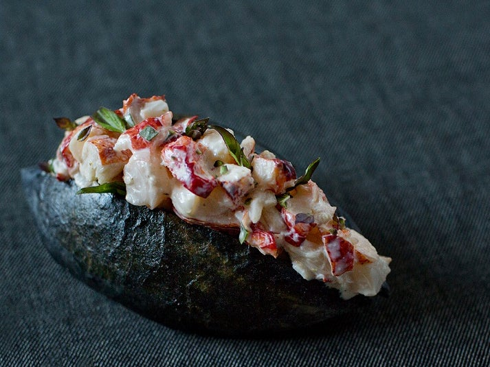 httpswww.saveur.comsitessaveur.comfilesimages201505hinoki-charcoal-lobster-roll_713x535.jpg