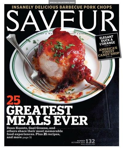 Twenty-Five Great Meals Issue Saveur