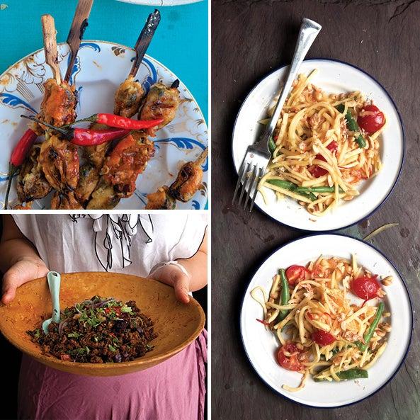 Menu: A Thai-Inspired Feast